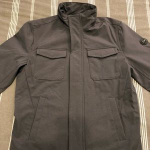Michael Kors Men's Charcoal Pocketed Zip Jacket